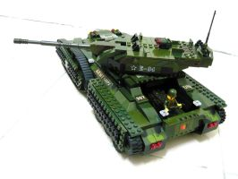 Lego Transform Tank 'Fake' 5.2 by SOS101