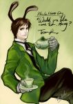 Tom Riddle Black Hare Day by Wolvtrune