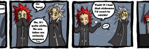 Axel is a Meanie, Part III by Quinchilla