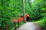 Pine Bank Covered Bridge. by GlassHouse-1