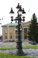 Swedish lamp post by CAStock