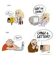 Mail. by bloglaurel