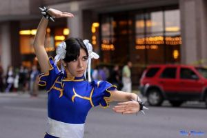 Chun-Li Pose by Alluring-Angel