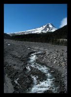 Summer 09 - Mt. Hood East Face by OregonArtTeacher