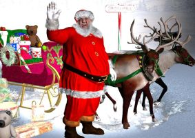 Greeting from North Pole by vera48