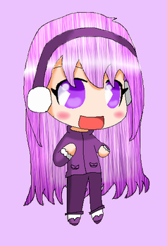 Chibi Lavender (Commission) by MMD1lover1