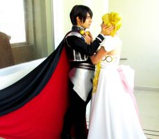 Sailor Moon Cosplay : Endymion and Serenity by CaptainArnoldo