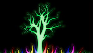 Light garden - tree by MrSide