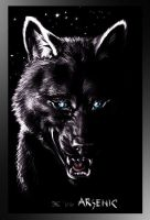 Arsenic Black Wolf. Requested. by Mutley-the-Cat