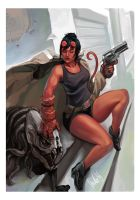 Hellgirl by ShadCarlos