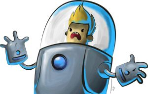 Chris Bravest Warriors by AzZzAeLL