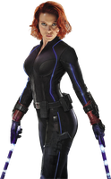 Captain America Civil War Black Widow Chase by darthbriboy
