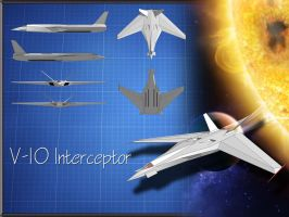 V-10 Interceptor by Sol-Vector