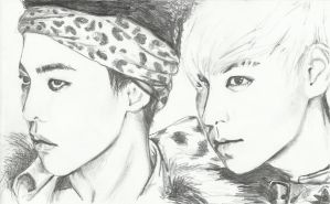 TOP and GD by topistops