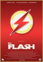 The Flash - Film Poster by BrentonPowell