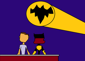 Sitting With My Batgirl by dewayne16