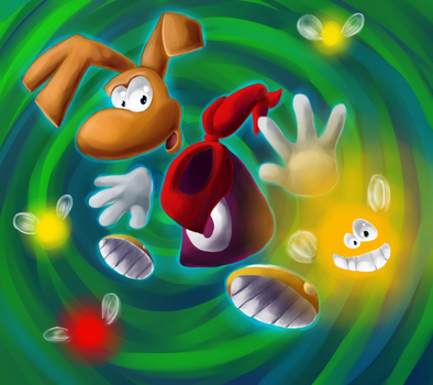 Rayman 2: The Great Escape by Chicorii