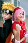 Naruto and Sakura by Lawrielle21