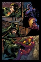 Iron Man VS Titannium Man by MarteGracia