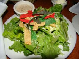 Nick Spicy Caesar Salad by stephuhnoids