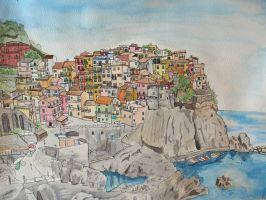 Cinque Terra by Puppy-eater