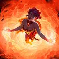 Lina - Fire Vortex by NatashaKashkina