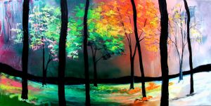 The Four Seasons by sagittariusgallery