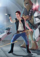 Han Solo by Lightning-Stroke