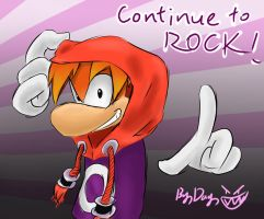 Rayman:continue to ROCK by amberday