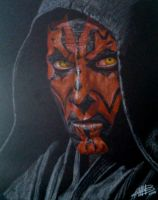Darth Maul by AndresBellorin-ART