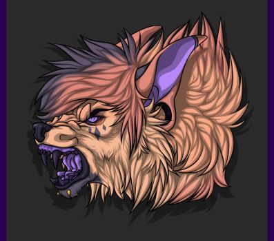 Snarl Headshot YCH [for silent-hill] by Mg-Wolfore