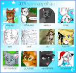 2009 Art Meme by Moonflight-RiverClan