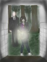 Don't Be Afraid..For The Slenderman Is Watching... by AbominalSnowDemon