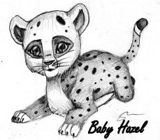 BABY HAZEL!! Natural State (Lion King Style) by Okhorse21