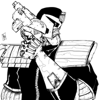 Judge Dredd by Chimy-The-Zombie