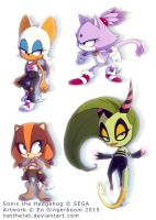 SEGA to StC Redesigns by nattherat