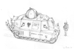 WW1 medium tank concept 01 by JanBoruta