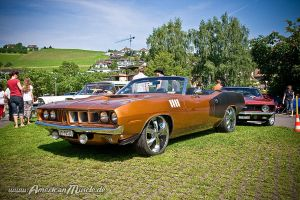 71 HemiCuda by AmericanMuscle