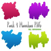 Pack Manchas PNG by Dinokika