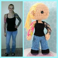 Custom Crochet - Jenna by CraftyTibbles