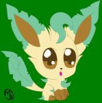 Chibi Leafeon by SabrinaEspeon