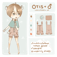 Otis Ref by fawntrash