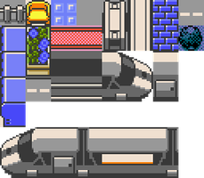Monorail Tileset by Piacarrot