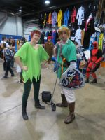 Link and Peter Pan 2 by scoldingspirit84