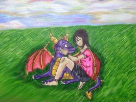 The only purple dragon for me by allanimerules1