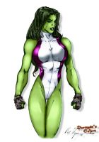 She-Hulk by MC Wyman by THE-Darcsyde
