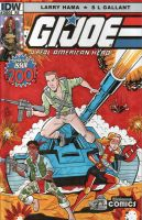 Community GI Jeff / GI Joe Sketch Cover by calslayton