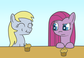 Muffins are tasty by adamscage