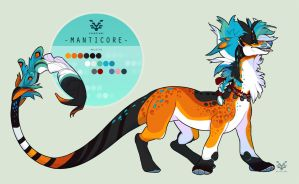 Manticore by SinCommonStitches