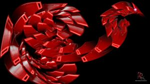 Dragon Snake RED by IRXDESIGN